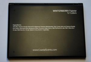 4 300x206 Recenzja palety Winterberry Coastal Scents