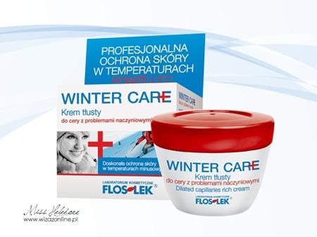 Krem zimowy dla cery naczynkowej - FlosLek Winter Care