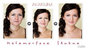 Makijaż ślubny skóry trądzikowej krok-po-kroku