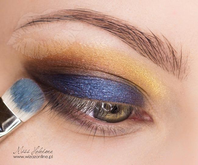 Makijaż multikolor na koniec lata wizaż: Monika Mitraszewska - MissHeledore