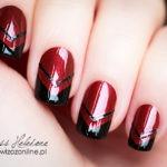 Geometryczny French Manicure